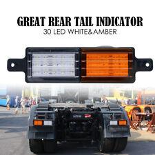 2X Sealed Bullbar Lights Front Indicator Park LED Bull Bar Light