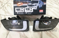 DRL DAYTIME RUNNING LIGHT WITH FOG LAMP FOR NEW ISUZU DMAX D-MAX 2012-15 TRUCK