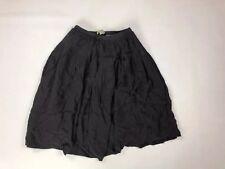BURBERRY BRIT Silk Skirt - UK4 - Black - Great Condition - Women's