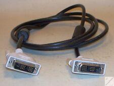 k_ DVI Kabel NEU von DELL ca. 1,8m Stecker-Stecker m-m digital Monitor weiß _fb