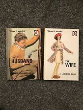 Ladybird Husband & Wife books X 2 - Anniversary Wedding Gift Set Humour