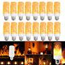LED Flame Light Bulbs Simulated Burn Fire Effect Xmas Flicker Lamps E27 E26 Lot