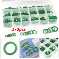 270Pcs 18 Sizes Car Air Conditioning A/C System HNBR O-Ring Seals Assortment Kit
