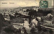 Rochefort Belgio Belgique 1914 Panorama Edit. casa Editrice Auguste roba TOTAL vista