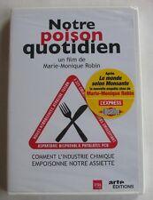 DVD NOTRE POISON QUOTIDIEN - Marie Monique ROBIN - NEUF