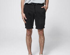 Mens size M Black Commons BYRON Shorts  size Medium pockets elastic waist NEW