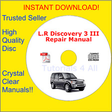 Land Rover Discovery 3 III FULL Workshop Service Repair Manual PDF DOWNLOAD