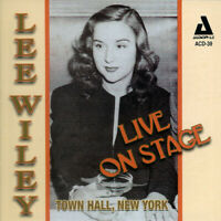 Lee Wiley - Live on Stage Town Hall New York [Used Very Good CD]