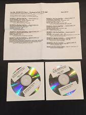 The Dr. Demento Show #07-07 Feb. 17-18 2007 Rare 2 cd Radio Show