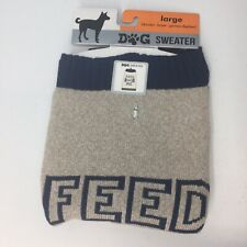 New listing New Dog Sweater Large (Feed Me) Labrador/German Sheperd/Boxer