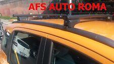 BARRE PORTATUTTO G3 FIAT PANDA ANNO 2013 CON  RAILS CHIUSI OMOLOGATO MADE IN ITA