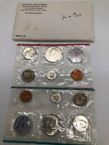 Gorgeous uncirculated pre 1964 set
