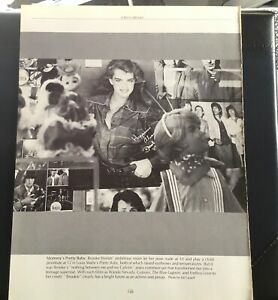 Hollywood Pin Up Brooke Shields Vintage Poster