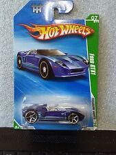 Hot Wheels 2010 Treasure Hunt Ford Gtx1 #7/12