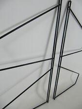 60er J. Mid Century String Ära 2 Wandregal Regalleitern Seitenteile