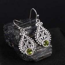 Women 925 Silver Dangle Drop Ear Hook Fashion Wedding Gift Earrings Jewelry