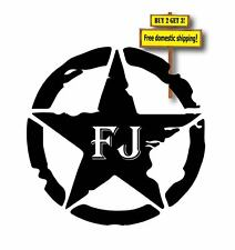 FJ Toyota Land Cruiser Die Cut Decal Choose Size & Color Made in America
