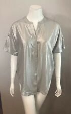 NWT Chico's Silver Sand Elongated Addison Tunic Top Size 00 (US 2)