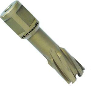 Weldon Hartmetall-Kernlochbohrer HM HardLine 39-65mm Schnitttiefe 40mm Auswerfer