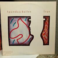 """SPANDAU BALLET - True <Promo> - 12"""" Vinyl Record LP - EX"""