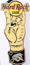 "Hard Rock Cafe Memphis 2007 Adam's Family Hand ""Rock On"" Sign Tattoo Pin #36014"