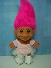 "ICE SKATER - 5"" Russ Troll Doll - NEW IN ORIGINAL WRAPPER"