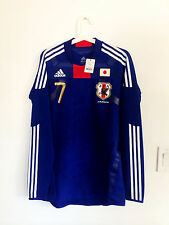 JAPAN 2010 HOME LS #7 ENDO TECHFIT MATCH ISSUED UN WORN SHIRT JERSEY TRIKOT
