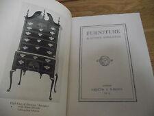 furniture .by esther singleton 1913