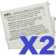 2x New Oem Sanyo Scp-25Lbps Battery For Scp-3200 Sprint