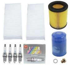 Tune Up Kit Air Oil Cabin Filter Drain Plug Spark Plugs for Acura RSX Honda CR-V