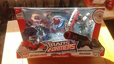 Transformers Animated The Battle Begins Optimus Prime Megatron deluxe 2 pack DVD
