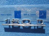 MERCEDES-BENZ PONTON 180D EMBLEM W120 TYPENSCHILD W121 SCHRIFTZUG TYPE LABEL