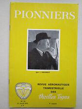 REVUE PIONNIERS AERONAUTIQUE N°32 IGOR SIKORSKY AVIATION GIRAVIATION MERMOZ