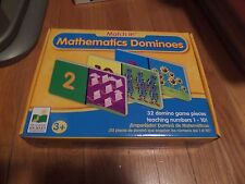 Match It! Mathematics Dominoes ages 3 + Teaching Numbers 1 - 10 NEW Unopened
