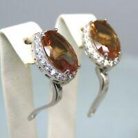 Turkish Handmade Jewelry 925 Sterling Silver Alexandrite Stone Women Earrings