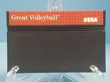 Great Volleyball (Sega Master, 1987) - Cart Only