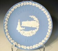 "Wedgwood Jasperware Collector Plate Christmas 1979 ""Buckingham Palace"" (600)"