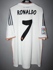 REAL MADRID SPAIN 2013 2014 HOME FOOTBALL SHIRT JERSEY #7 RONALDO CAMISETA