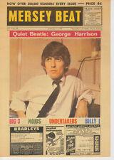 Mersey Beat Mag George Harrison Postcard Beatles-Pc0027-Pyramid Uk-August 1 1964