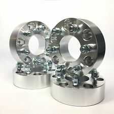 """4x 1.5"""" Wheel Adapters Spacers 6x5.5 to 6x5 6x139.7 to 6x127 ¦ 12x1.5 Fits Chevy"""