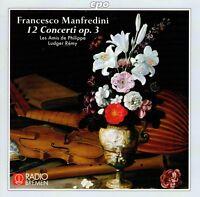 Francesco Manfredini (1684-1762) - 12 Concerti op. 3 CD Gebraucht - sehr gut