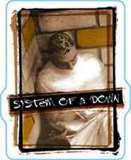 SYSTEM OF A DOWN Sitting In The Corner Logo Sticker NEW OFFICIAL MERCHANDISE