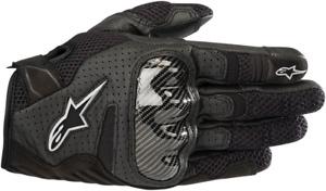 Alpinestars Stella SMX-1 V2 Air Gloves Black Gray Light Gray White S