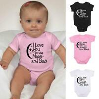Baby Grow Bodysuit Baby Vest Cotton New Cute Baby One O-Neck Piece Pajamas N1W5