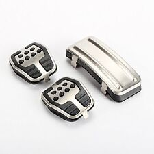 Car Clutch Throttle Brakes Foot Pedal Fit Ford Focus Mk2 Mk3 Kuga Escape Steel