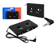 Cassette Audio Aux Adaptador para MP3 IPO iPhone Jack 3,5mm radio de coche Heim
