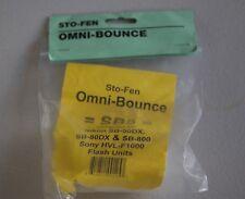 BRAND NEW* STO-FEN OM-EW OMNI-BOUNCE DIFFUSER FOR SONY HVL-F1000  *IN SCOTLAND