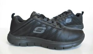 Ladies SKECHERS LITE-WEIGHT Memory Foam Black Lace-up Trainers Size UK 5.5 Exc