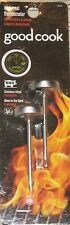 NEW 2 Pack Good Cook MINI Meat THERMOMETER Glow In DARK Stainless STEEL GRILL