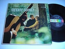 The Romantic Guitar of Vicente Gomez 1964 Stereo LP